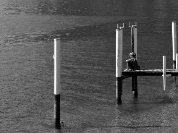 Un pomeriggio in riva - L'attesa